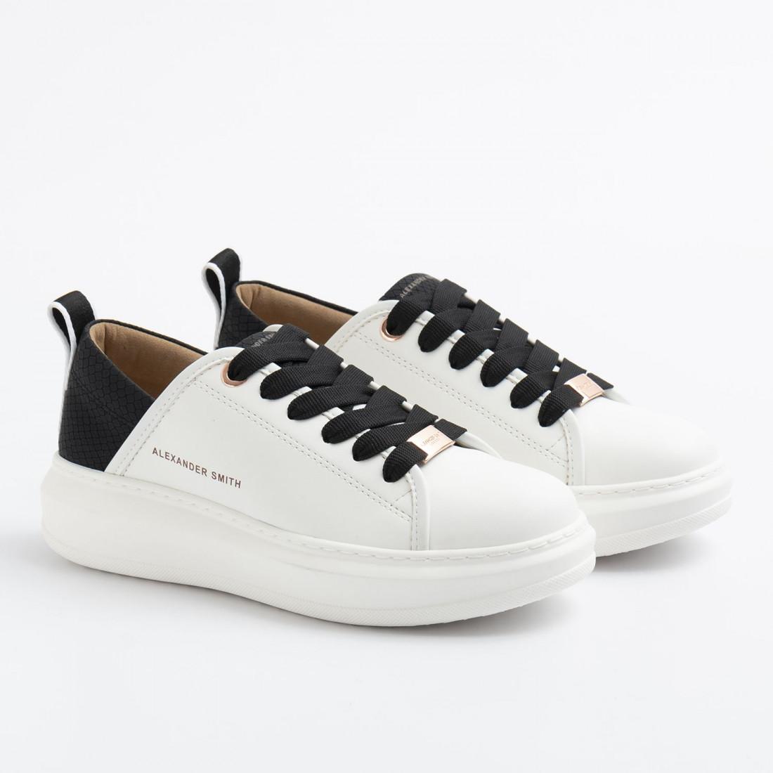 sneakers donna alexander smith ec112311whiteblack 9002