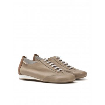 sneakers woman mephisto becky p5117639 texas light taupe
