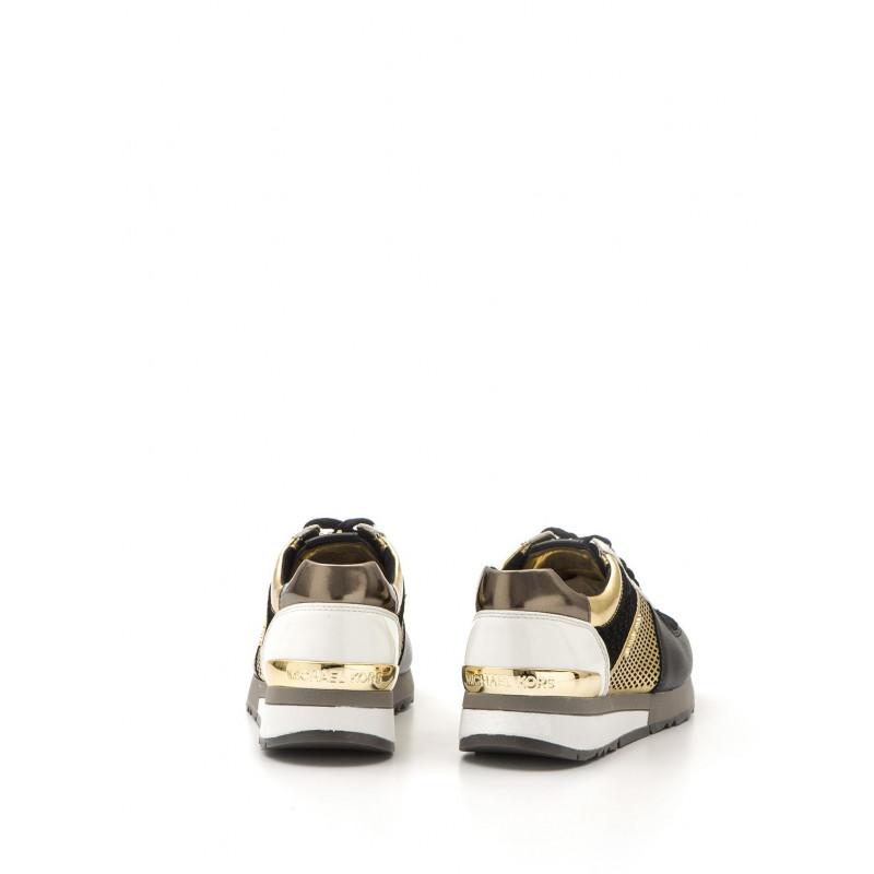 sneakers donna michael kors 43t5alfp1m039 allie blkgld