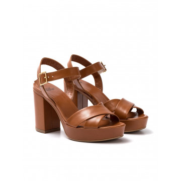 sandali donna silvia rossini 1513 5053capri cuoio
