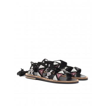 sandals woman janet  janet 39006 damba nero