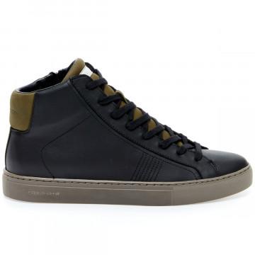 sneakers uomo crime london 10673blackmilitare 9171