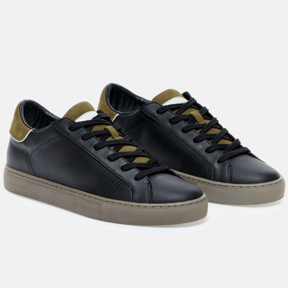 sneakers uomo crime london 10622blackmilitare 9170