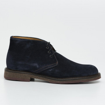 lace up ankle boots man daytona 2912bronx sirena blu