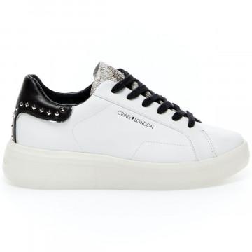 sneakers donna crime london 24606white 9252