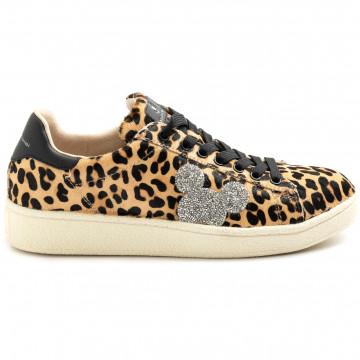 sneakers donna moa master of arts mc459leopard glitter 9203