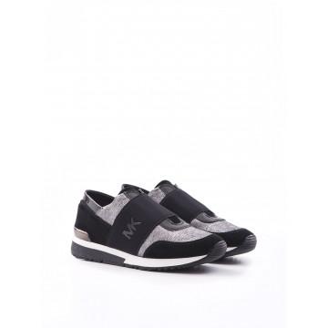 sneakers donna michael kors 43f6mkfs1m058 gunblk