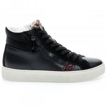 sneakers donna crime london 24462black 9253