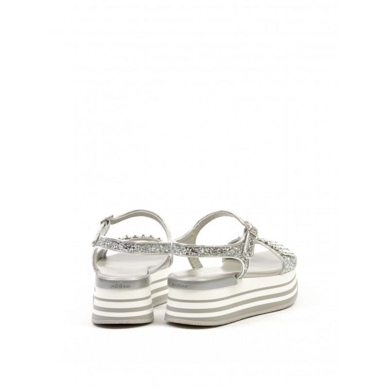 sandals woman hogan club gyw2940v300btib200