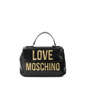 borse a mano donna love moschino jc 4281kk0000 patent nero 1614