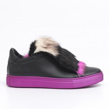 sneakers donna stokton 658 d fwvitello nero