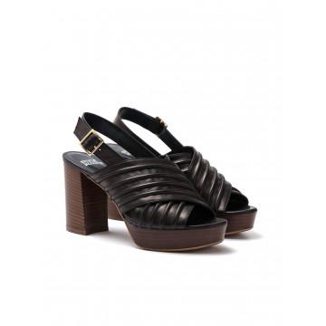 sandals woman silvia rossini 1837c 5053 soft nero