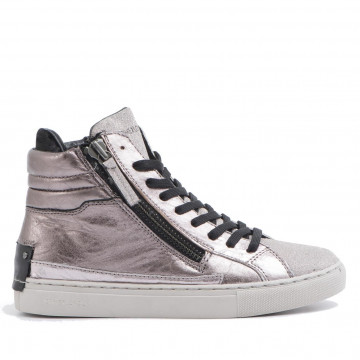 sneakers donna crime london 25332a17b23 oro rosa java hi 2039