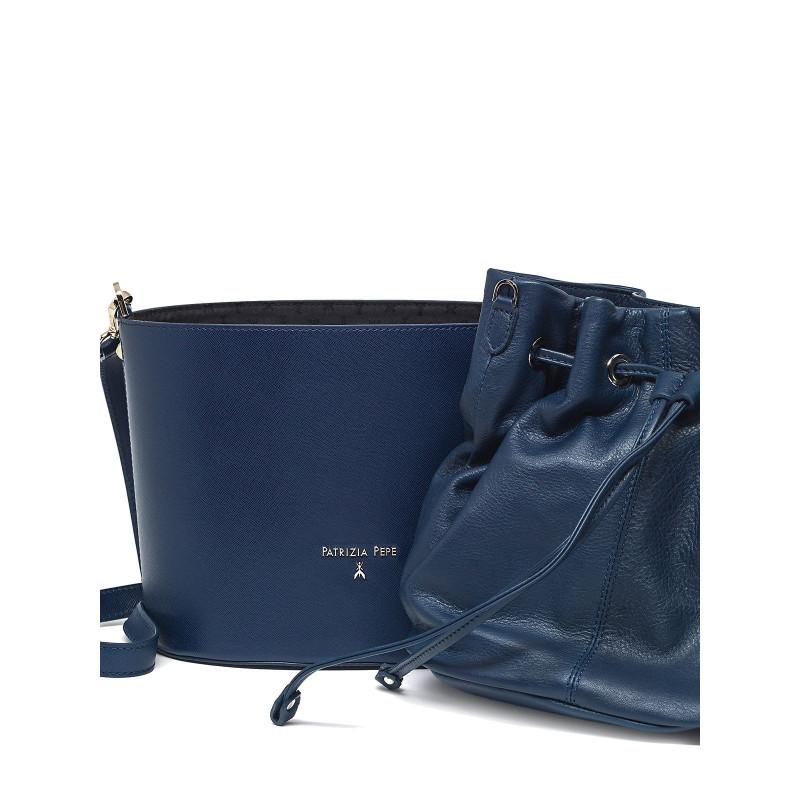 borse a mano donna patrizia pepe 2v6500 a2crc475 dress blue