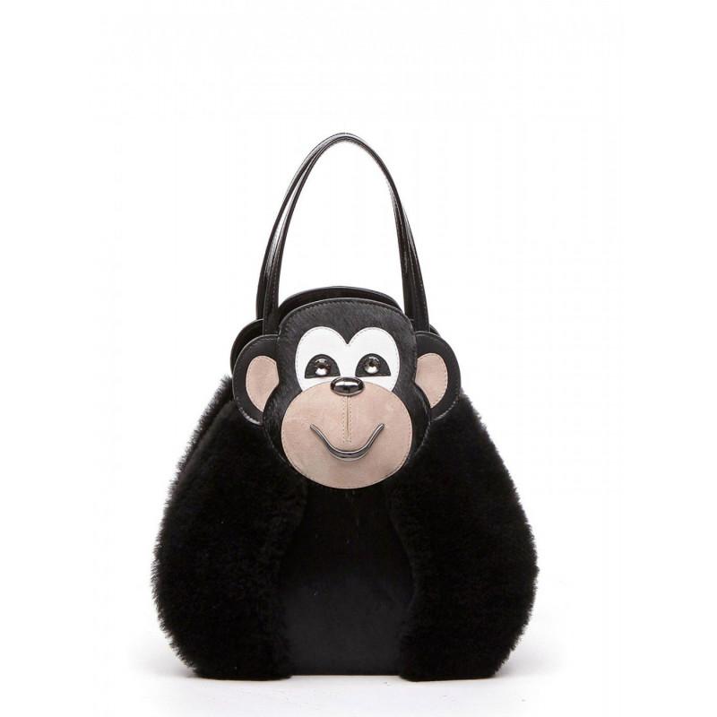 borse a mano donna braccialini b11180 pp 818temi scimmia