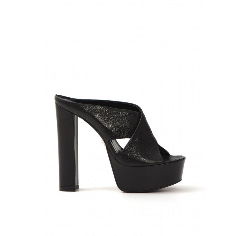 sandali donna franco colli fc1038nappa krakle nero 506