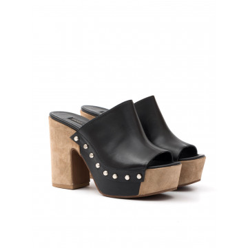 sandals woman janet  janet 39451 bamako nero