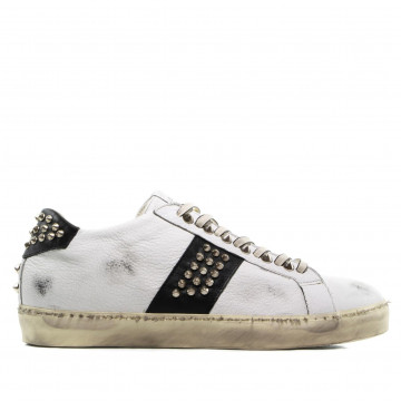 sneakers uomo leather crown m iconic016