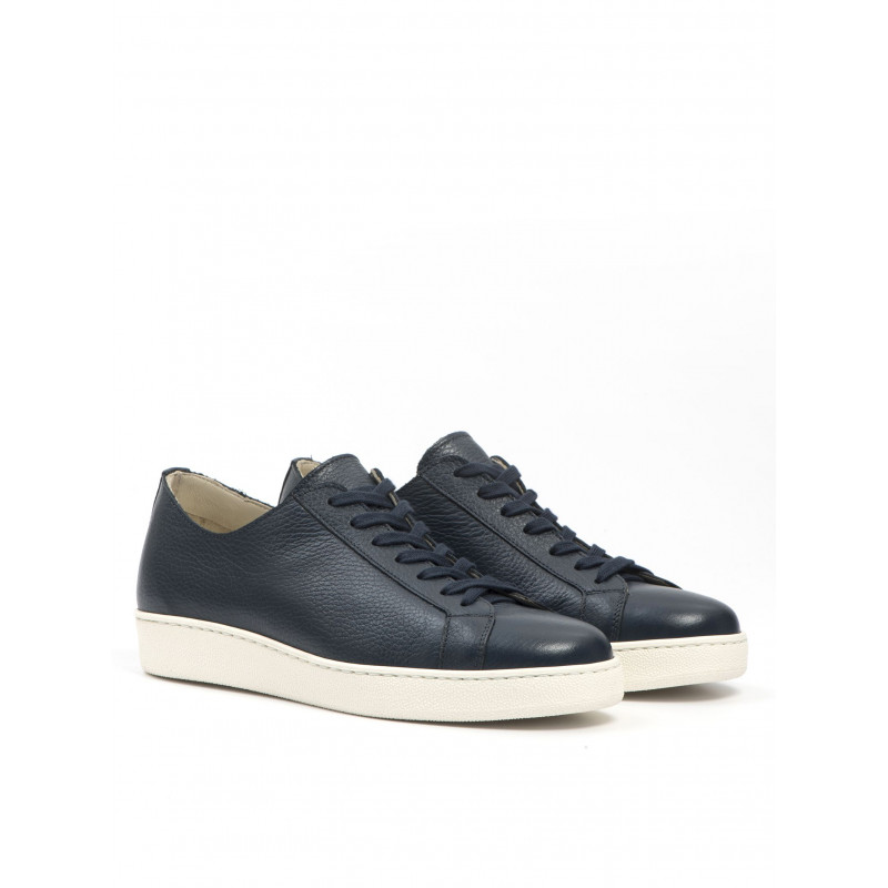sneakers uomo j wilton 100 454cuir blu 958