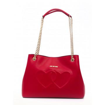 borse a mano donna love moschino jc 4290kl0500 lamb rosso