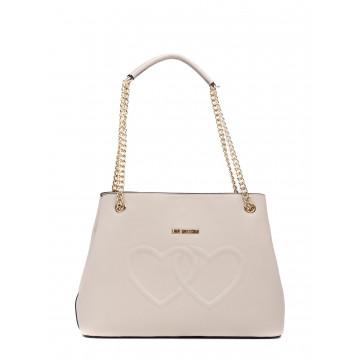 borse a mano donna love moschino jc 4290kl0110 lamb avorio