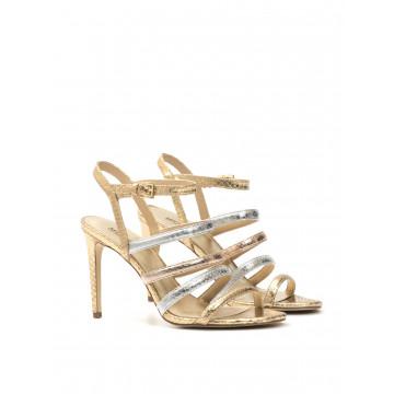 sandali donna michael kors 40s7naha2mnantucket sandal gld 1653