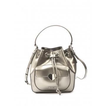 borse a mano donna love moschino jc 4250kf0902 patent argento 1630