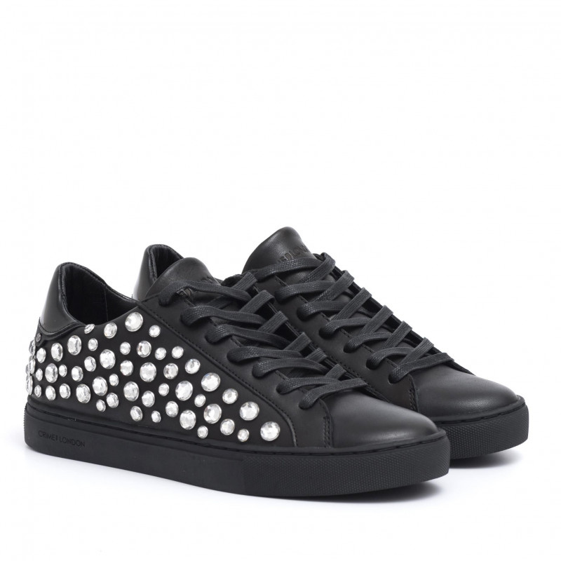CRIME LONDON Sneakers donna beat eyelet white