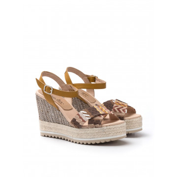 slip on donna carmen saiz azteka12 046 tribu marron 1115