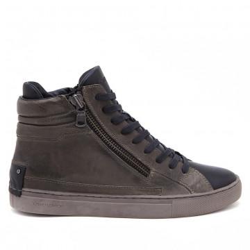 sneakers uomo crime london 11337a17b83 militare java hi