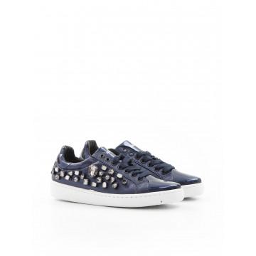 sneakers woman giulia n 1000  pietre 8 blu