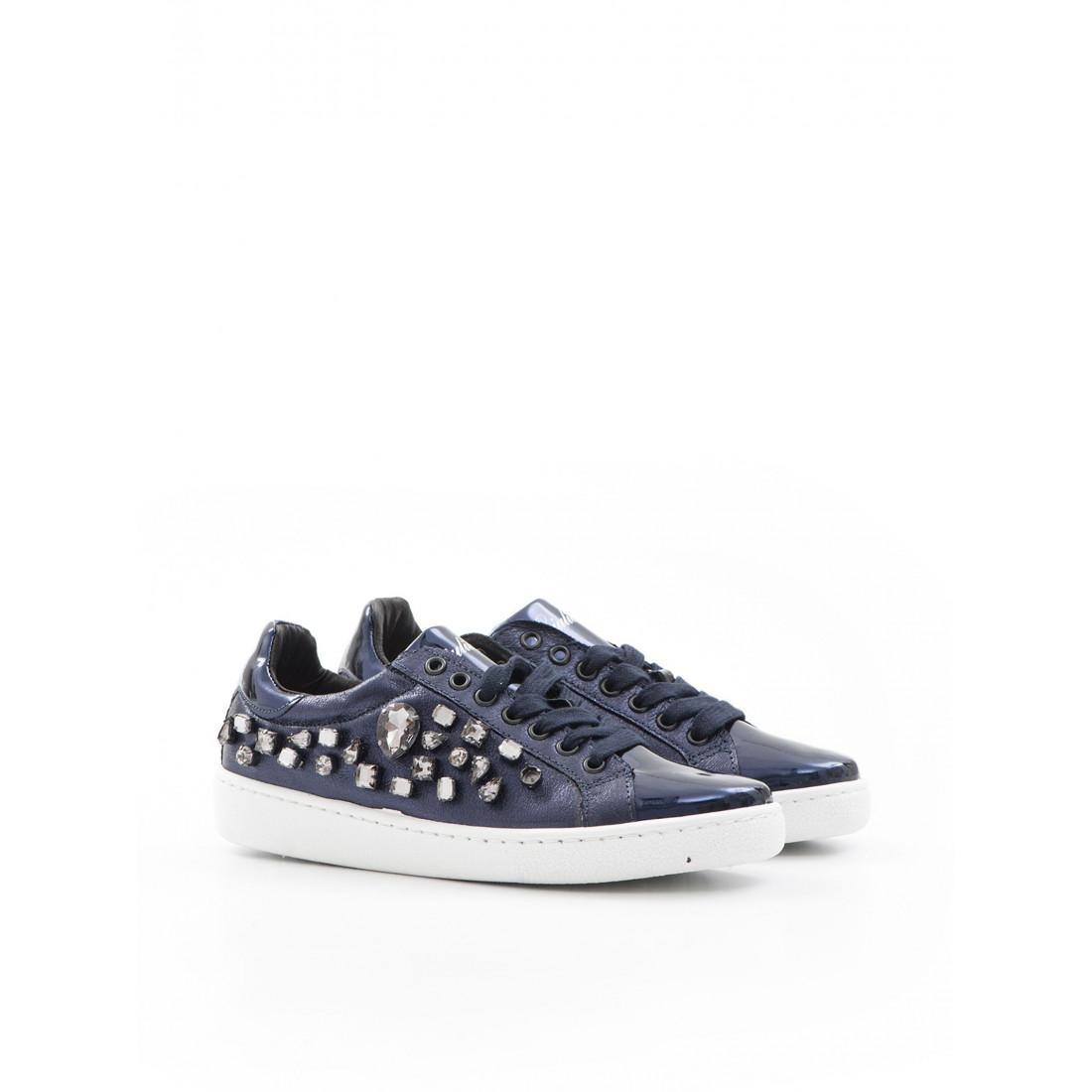 sneakers donna giulia n 1000pietre 8 blu 957