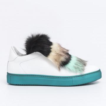 sneakers donna stokton 658 d fwvitello bianco