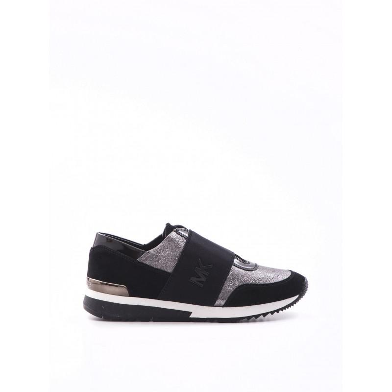 sneakers donna michael kors 43f6mkfs1m058 gunblk 971