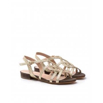 sandals woman sangiorgio 728 346 lamcaram platino