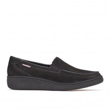 loafers woman mephisto nilda p5124562sportbuck black
