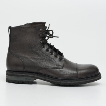 lace up ankle boots man brecos 647618980 bufalo grigio