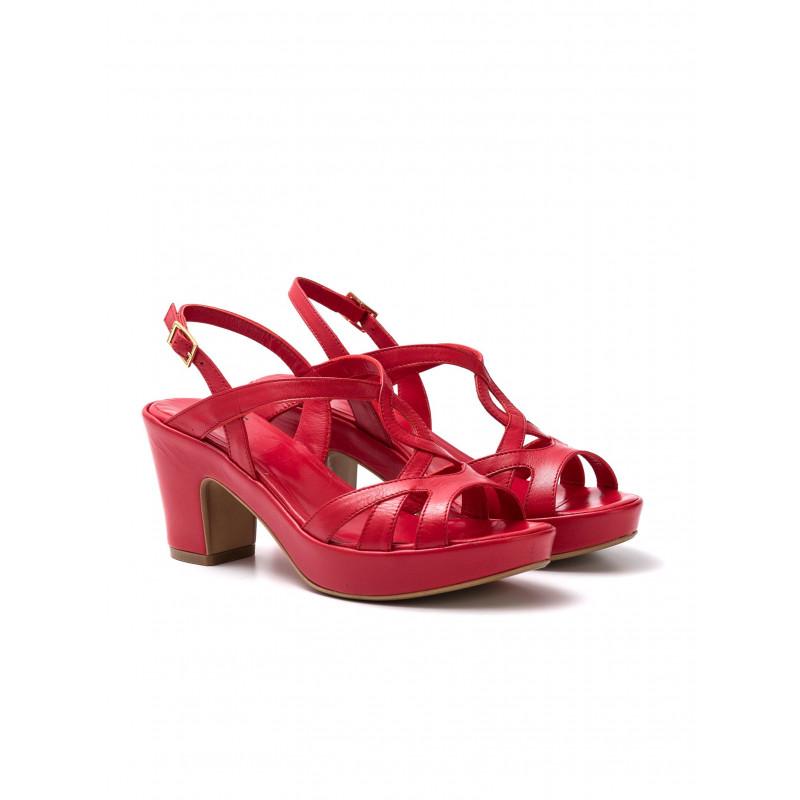 sandali donna silvia rossini 1311 elenacapri rosso 645
