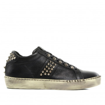 sneakers woman leather crown w iconic14