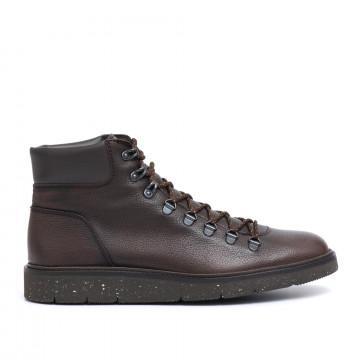 lace up ankle boots man hogan hxm3340z490hk0559w