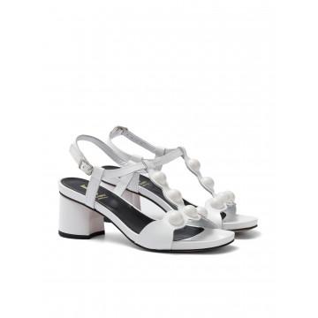 sandali donna jeannot 50641verpi bianco 1340