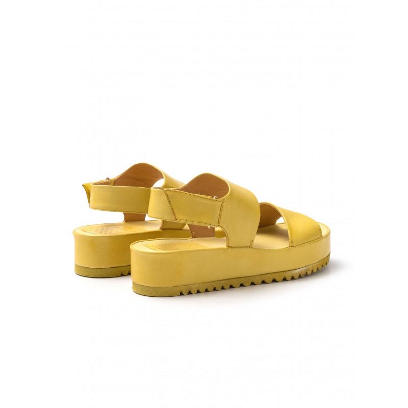 sandali donna pf16 42oves giallo
