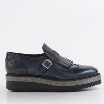 loafers woman sax 25833bima manhattan blu