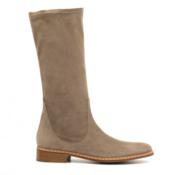 boots woman lorenzo masiero b4636234 stretc velour tor