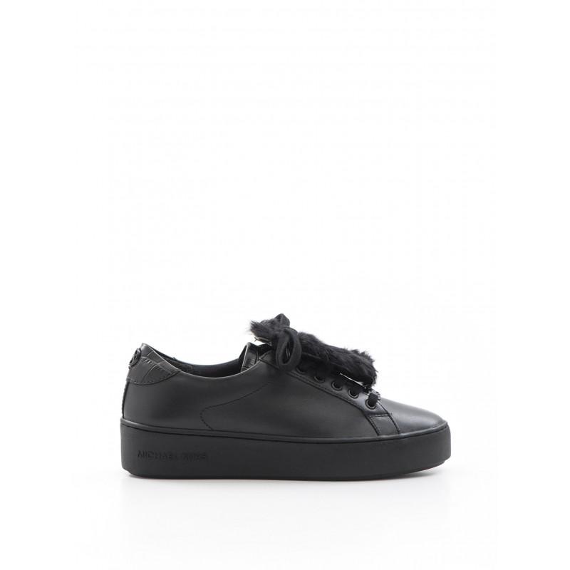 sneakers woman michael kors 43f6pofs1l001 poppy blk
