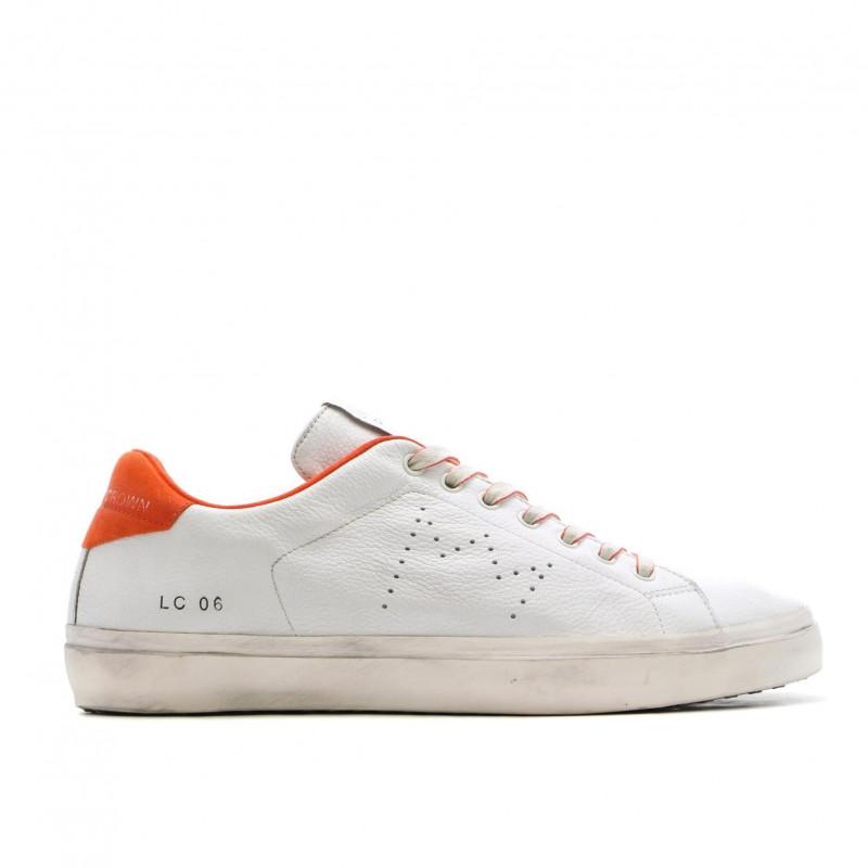 sneakers man leather crown mlc 0601