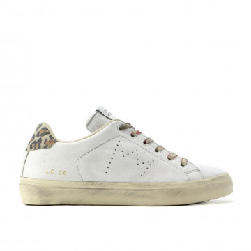 sneakers donna leather crown wlc 0604