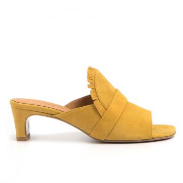 sandals woman audley 20471capri mustard
