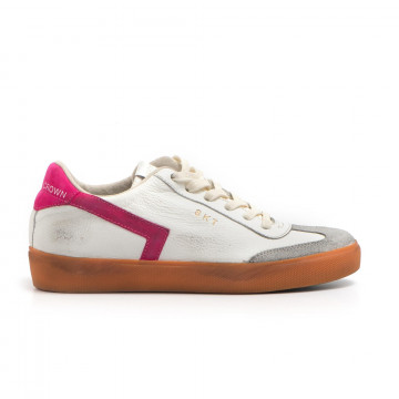 sneakers donna leather crown wlc 7909