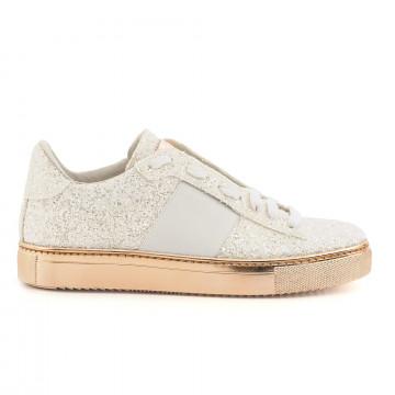 sneakers donna stokton 650 dglitter bianco